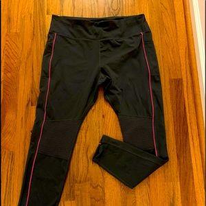 Avia black yoga spandex pants, size XL
